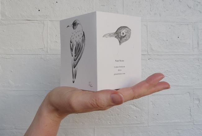 Louise Jennison,   Nuit Noir  , 2014, printed zine