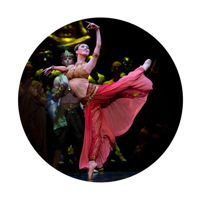 Ako Kondo of The Australian Ballet in Stanton Welch's   La Bayadère   (Image credit: Lynette Wills)
