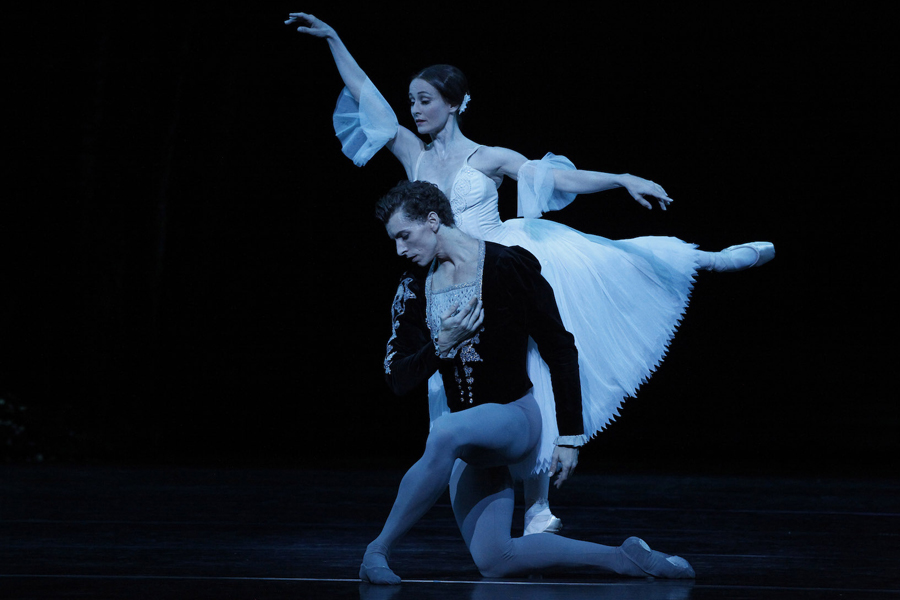 Madeleine Eastoe and Kevin Jackson in  Giselle  (Image credit: Jeff Busby)