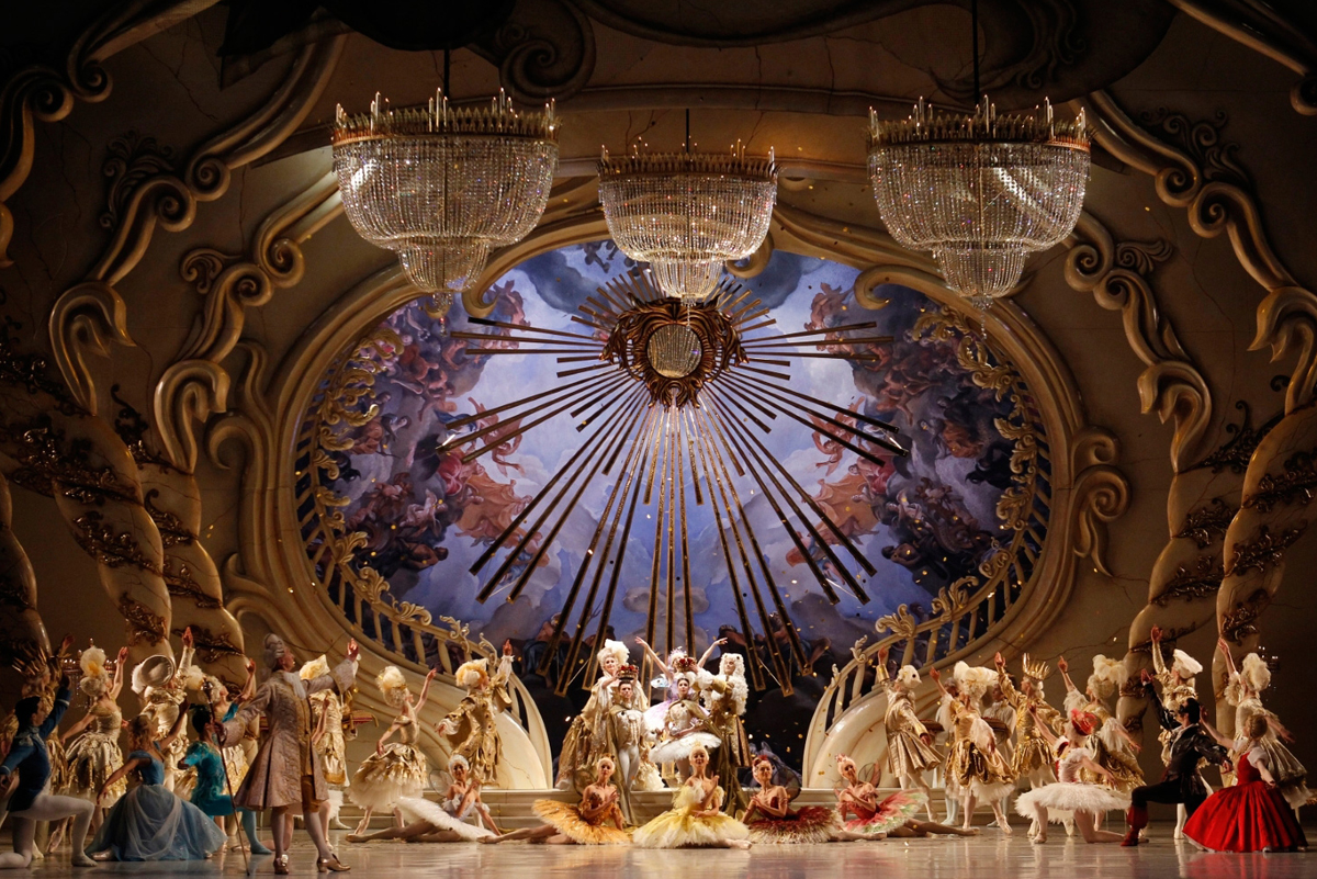 The Australian Ballet in David McAllister's  The Sleeping Beauty  (Image credit: Jeff Busby)