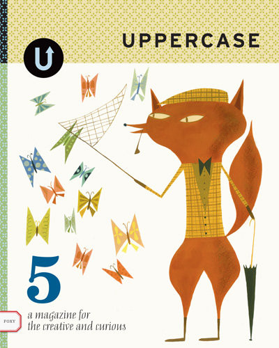 Uppercase magazine, Issue five, Spring, 2010