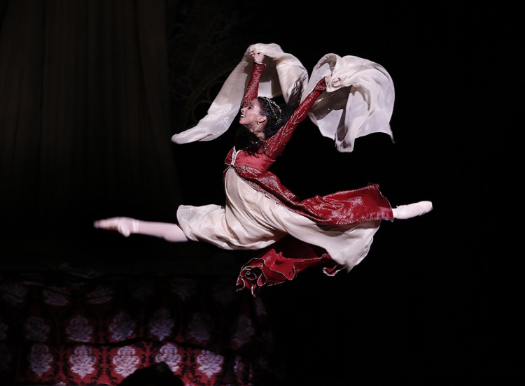 Karina González in Houston Ballet's Romeo and Juliet (Image credit: Jeff Busby)