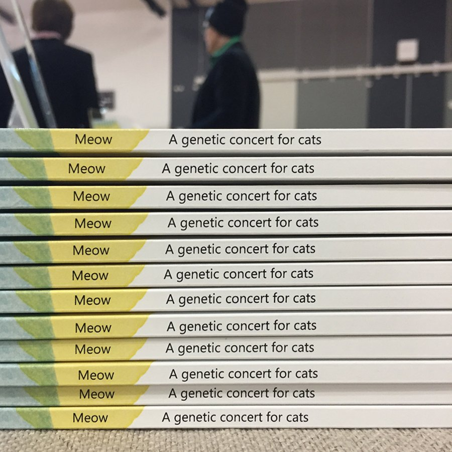 We recently had the pleasure of working on the  cover illustration  for Kerry J. Fowler's book,   Meow: A Genetic Concert for Cats  , which looks at the DNA responsible for the diversity and appearance of cat breeds