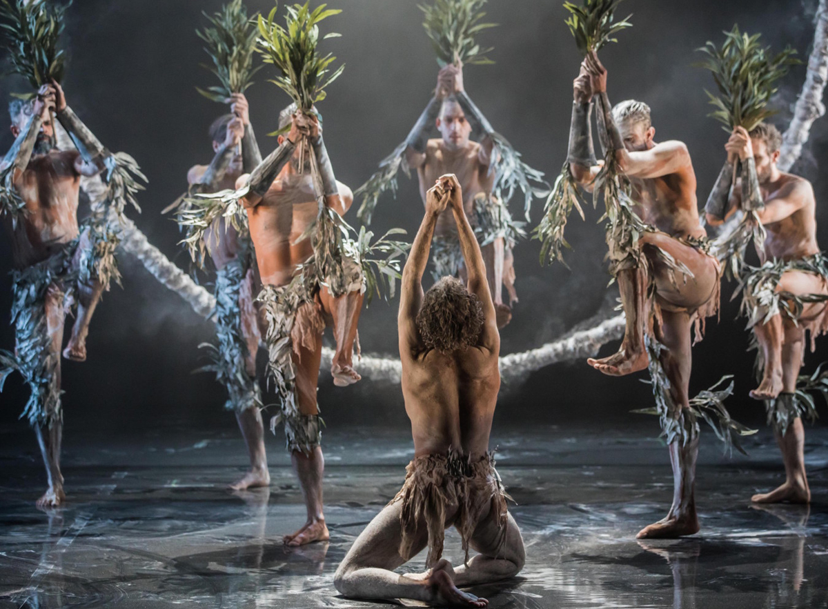 Bangarra Dance Theatre's  Bennelong  (image credit: Vishal Pandey)