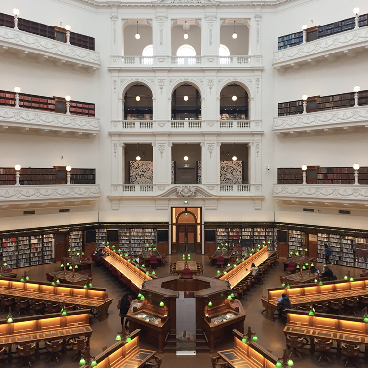 EXHIBITION:  Looped , La Trobe Reading Room, State Library Victoria