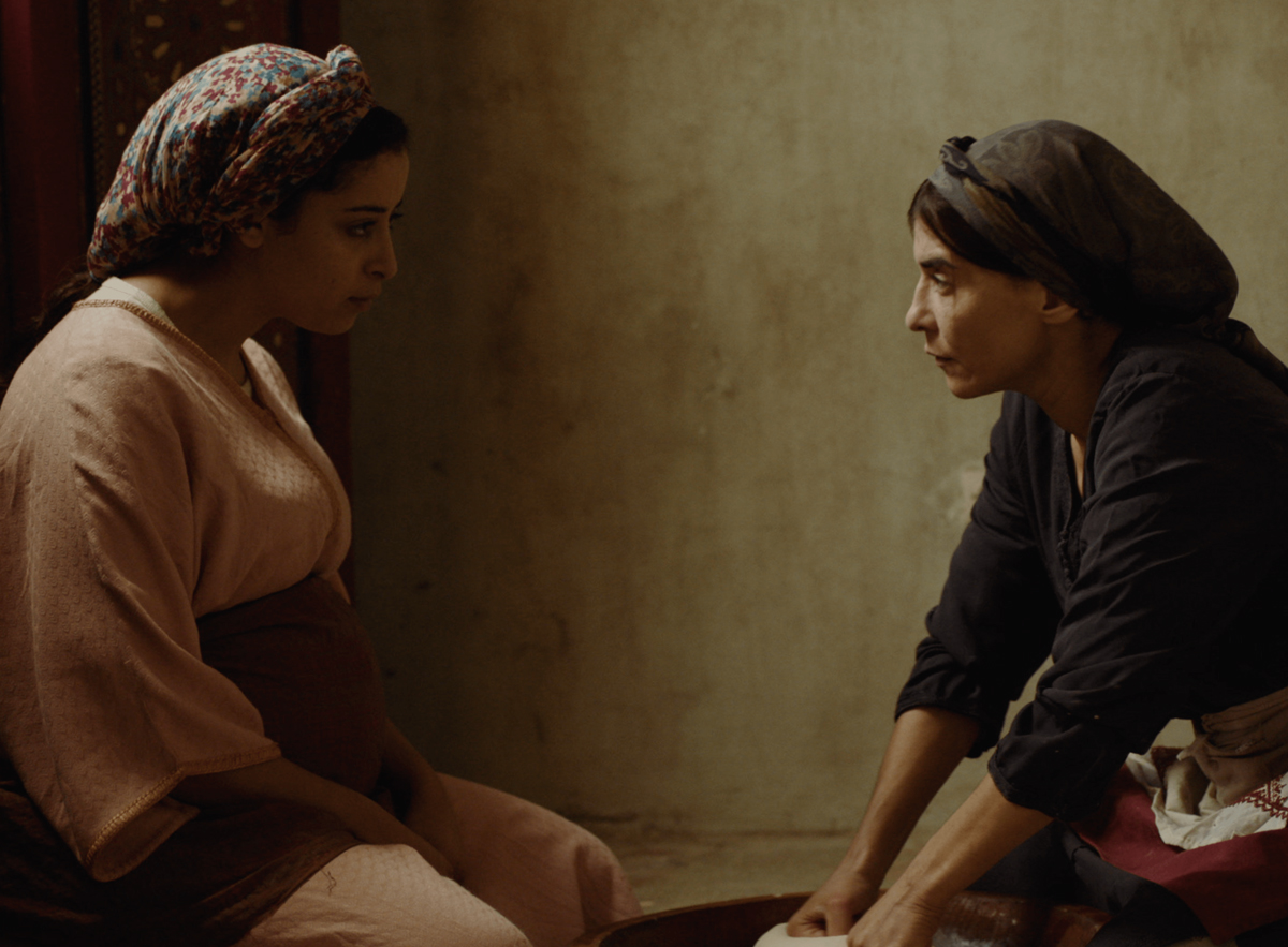 Nissrine Erradi and Lubna Azabal, in a scene from Maryam Touzani's  Adam  (2019)