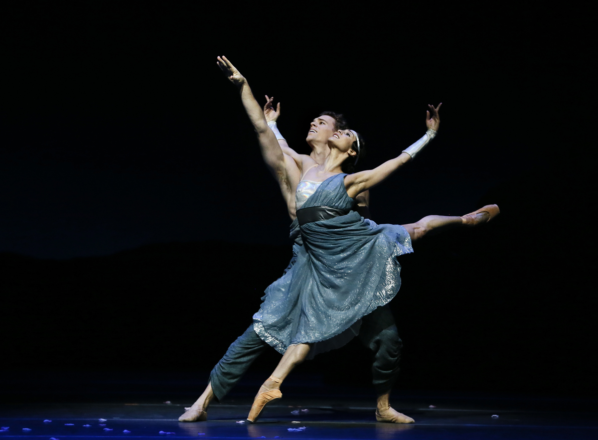 Robyn Hendricks and Adam Bull in  Sylvia  by Stanton Welch (image credit: Jeff Busby)