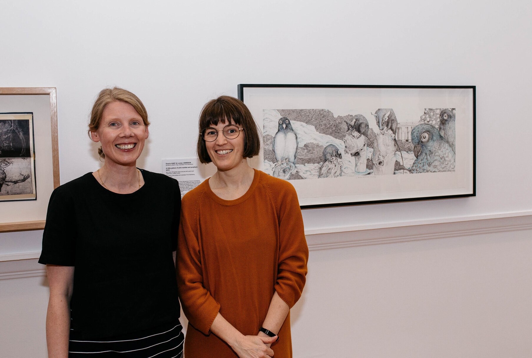2019 Geelong acquisitive print awards  (photo: Andrew Curtis)
