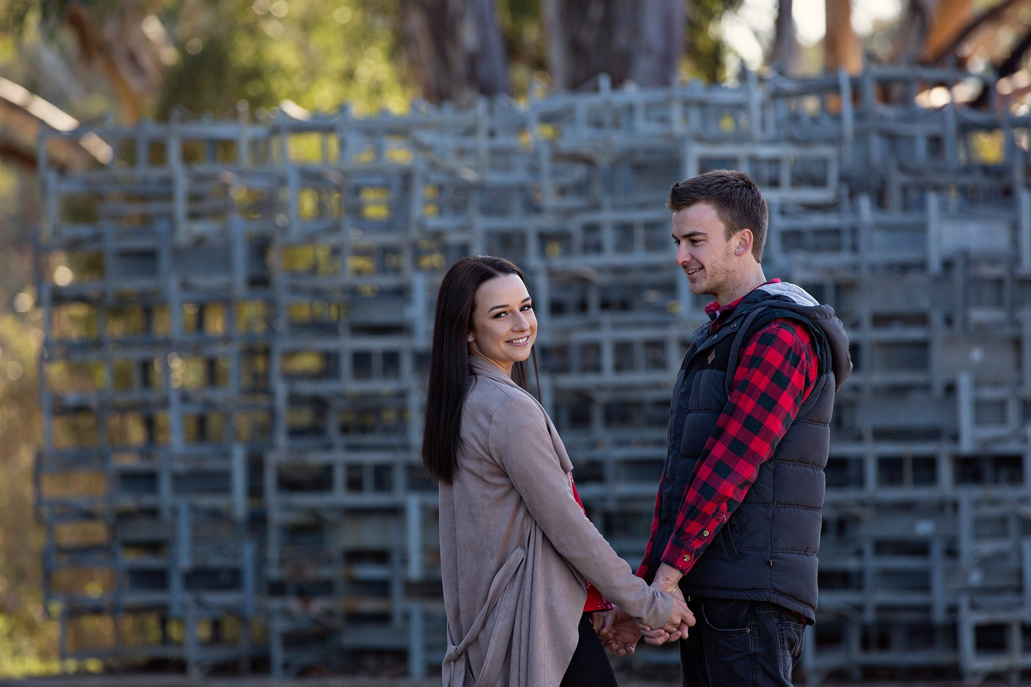 """Jess + Braeden - """"Leticia is AMAZING!!!! She did our engagement & wedding photos. She made us feel so relaxed, and made the entire experience so much fun! We are so happy with how our photos turned out! If your looking for a fantastic photography, you've made the right choice with Leticia!"""""""
