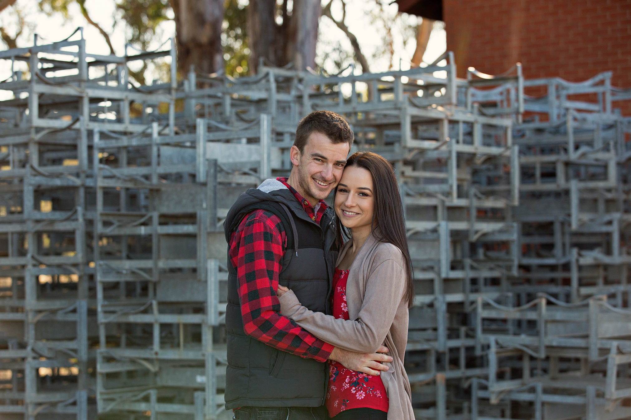 More Like This - Jess + Braeden Tahbilk Winery e-session