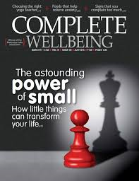 DEC 1st 2015   Lee will feature in The Complete Wellbeing magazine and online talking about his life now as a full time artist.
