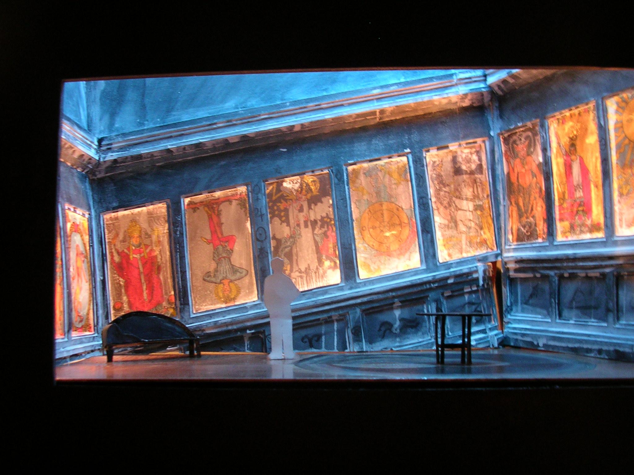 """Ghosts- Henrik Ibsen  Conceptual Set Model 1/2""""=1' scale"""