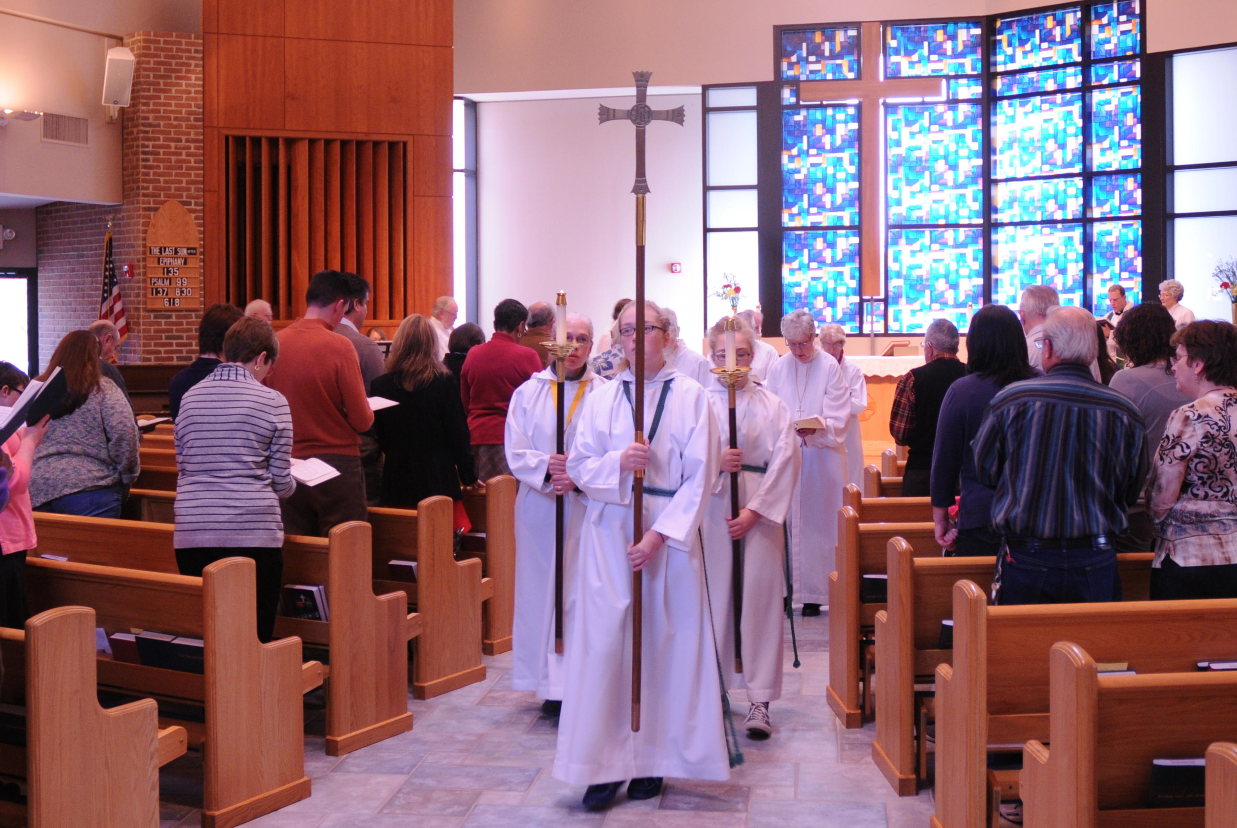 Acolytes at St. Anne's, Damascus, MD