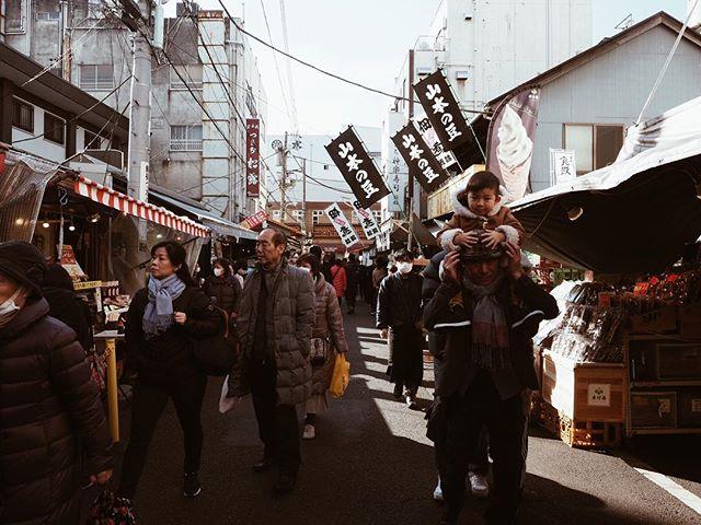 Tsukiji Market ✖️ Tokyo