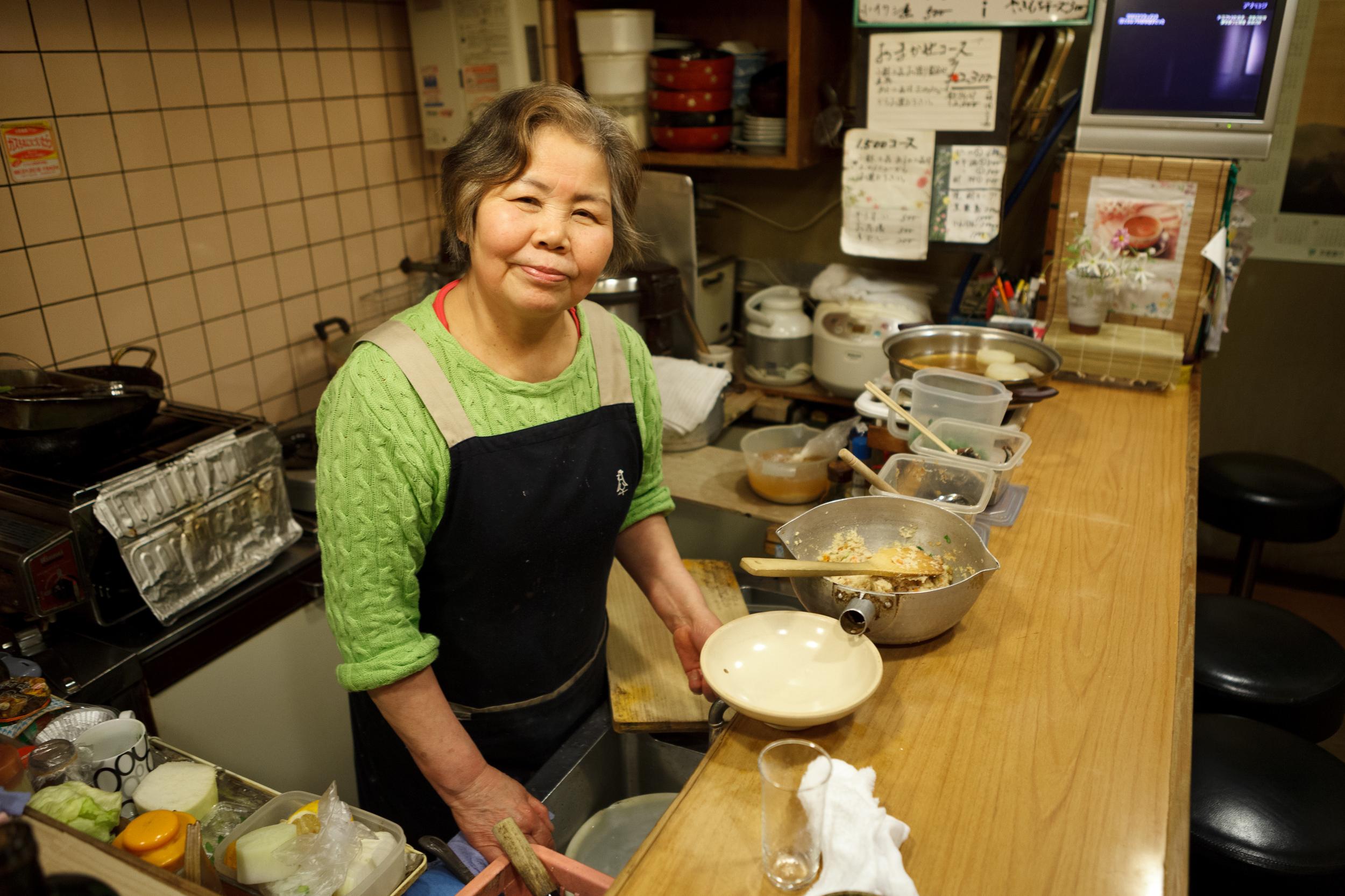 京の居酒屋ちか -Kyo No Izakaya Chika, March 24, 2011