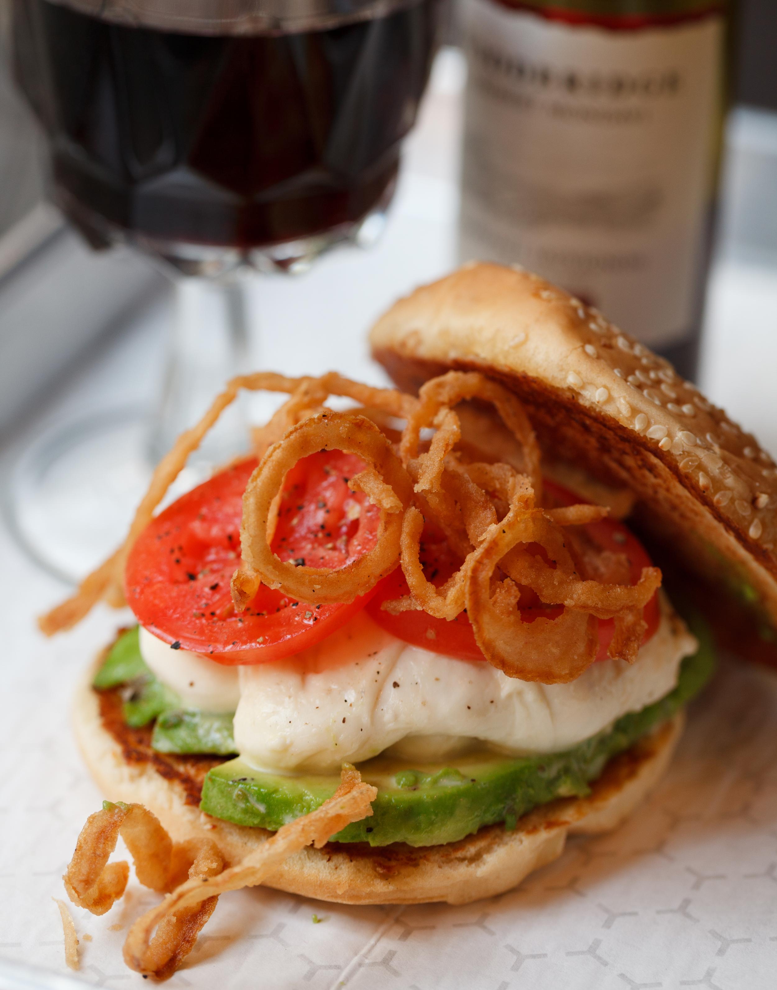 Mozzarella Sandwich from  Black Shack