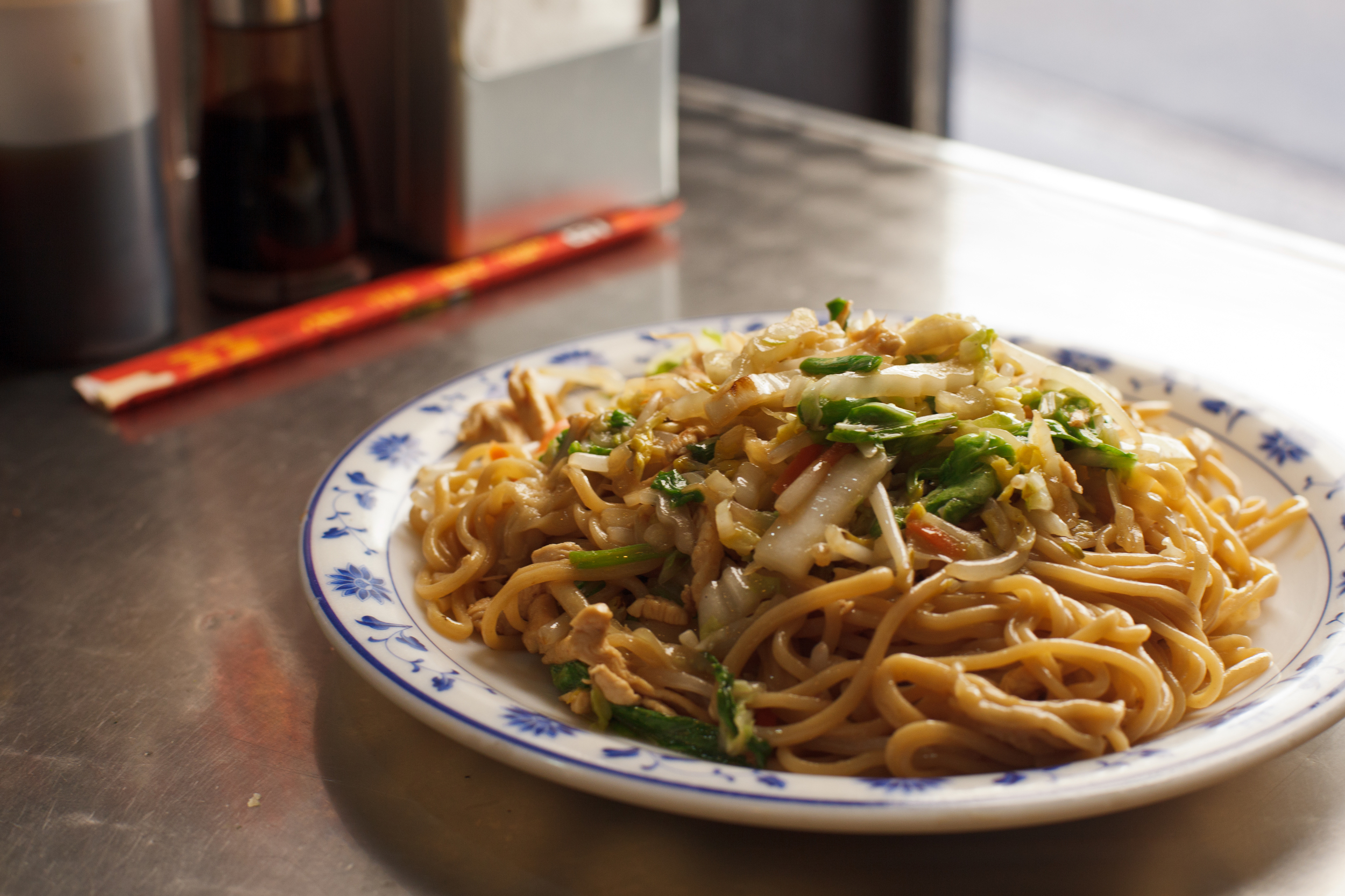 Pan-fried Noodles from Tasty Hand-Pulled Noodles
