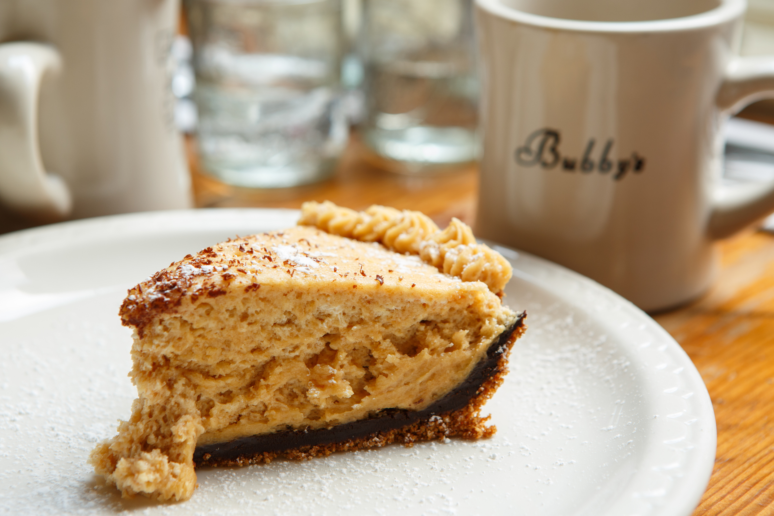 Organic Peanut Butter Chocolate Pie from Bubby's