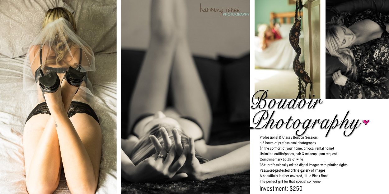 Boudoir Photography — Harmony Renee Photography