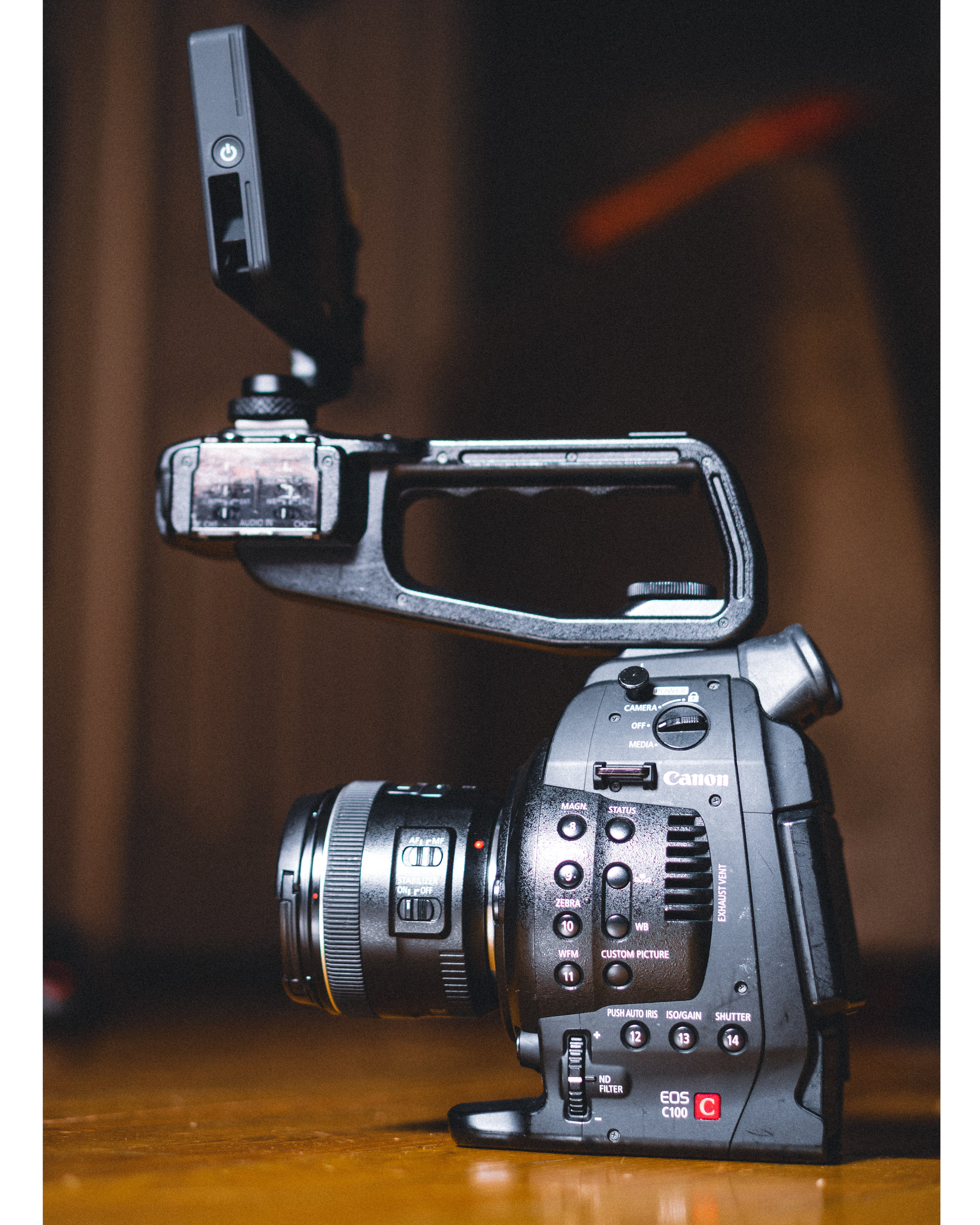 """Canon C100 - My first """"professional"""" video purchase."""