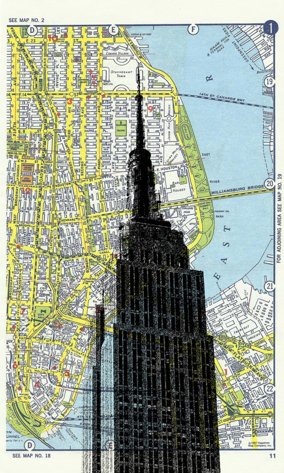 Empire State NYC by DarkIslandCity