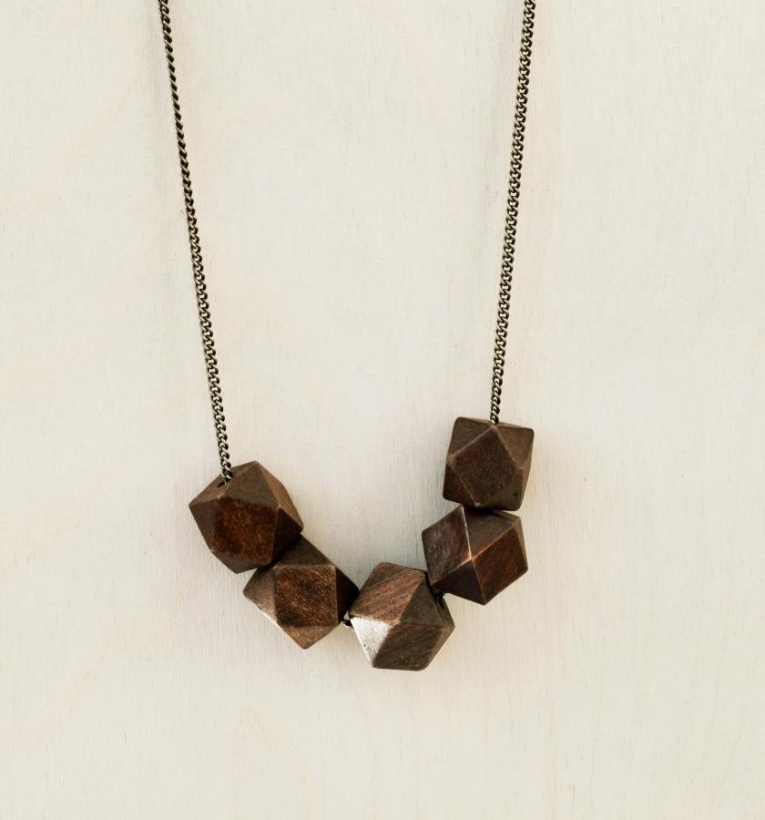 Rustic Necklace by Byrdie