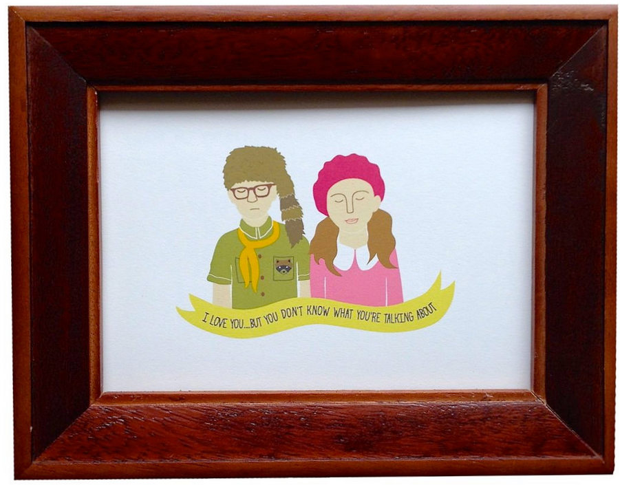 WES ANDERSON MOVIE-INSPIRED MINI PRINTS AND CARDS BY ARTHUR'S PLAID PANTS | IN-STORE NOW + ONLINE SOON. CONTACT US FOR INFO.