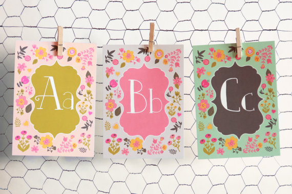 LUCY DARLING'S ALPHABET CARD SET