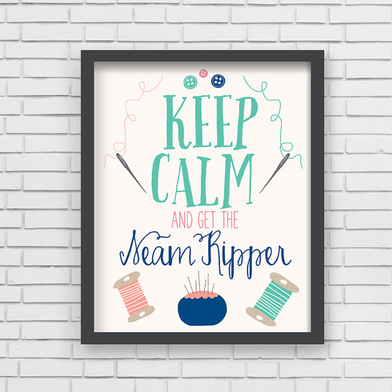 LUCY DARLING'S  KEEP CALM  PRINT