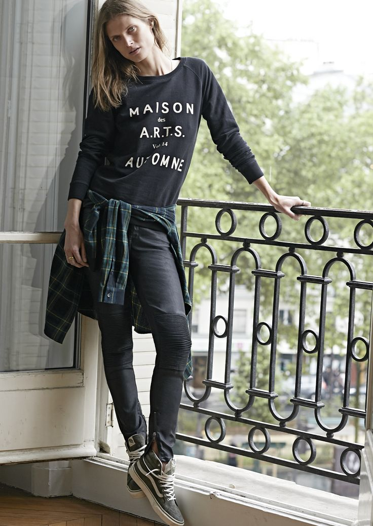 MADEWELL'S FALL 2014 CATALOG  FEATURING MALGOSIA BELA. FYI, SUBSECT SKATESHOP HERE IN DSM HAS VANS' SK8 HI SHOES.