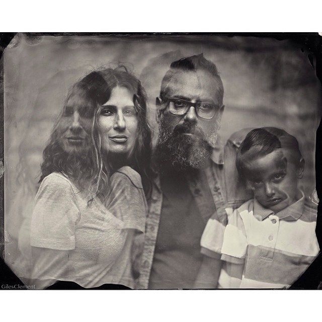 GILES CLEMENT'S  TINTYPES .