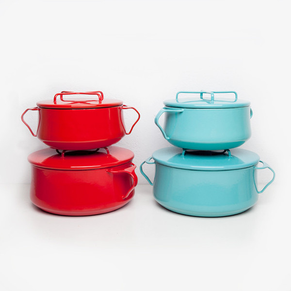 FALL IS DUTCH OVEN TIME : GET THESE  DANSK KOBENSTYLE  BEAUTIES FROM  POKETO  OR FIND THEIR VINTAGE BROTHERS AND SISTERS.