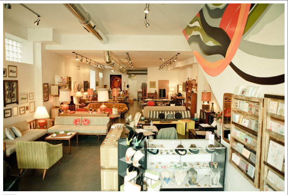 NEXT TIME YOU'RE IN CHICAGO, SHOP  MODERN COOPERATIVE'S  MIX OF VINTAGE, MODERN AND HANDMADE