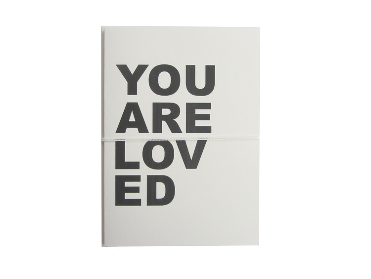 you are loved card cult paper