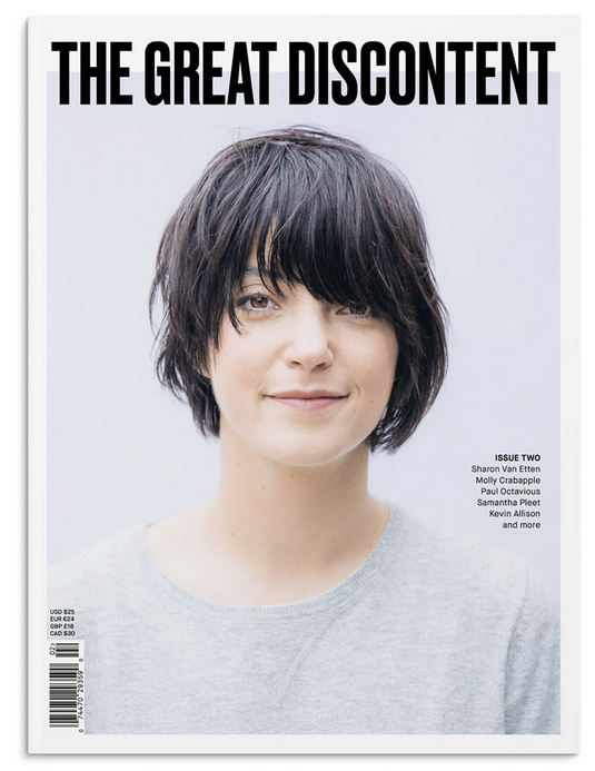 THE GREAT DISCONTENT ISSUE TWO  can be purchased  in-store  or   online   at Domestica.
