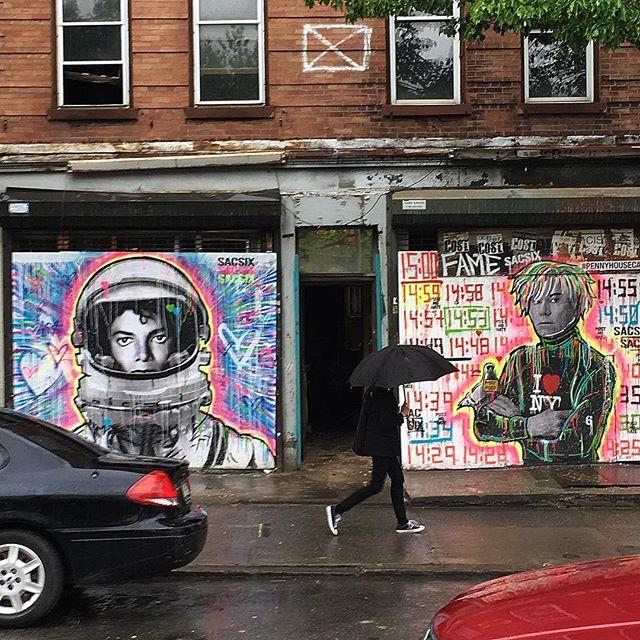 warhol jackson nyc mural