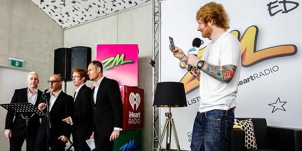 TVN with Ed Sheeran