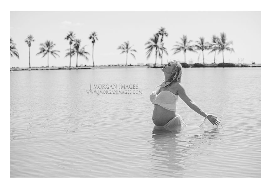 bare belly maternity