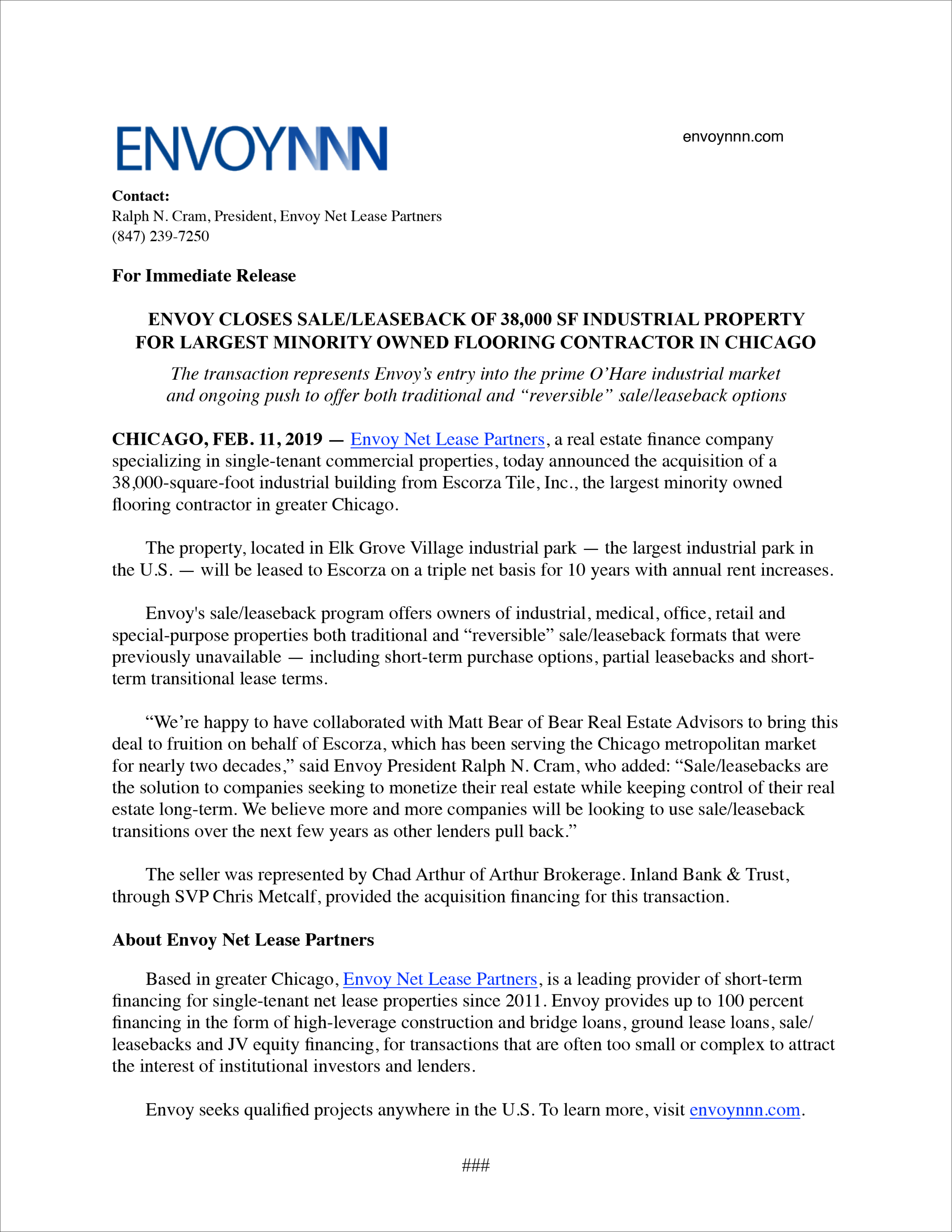Envoy Escorza News Release FINAL.png