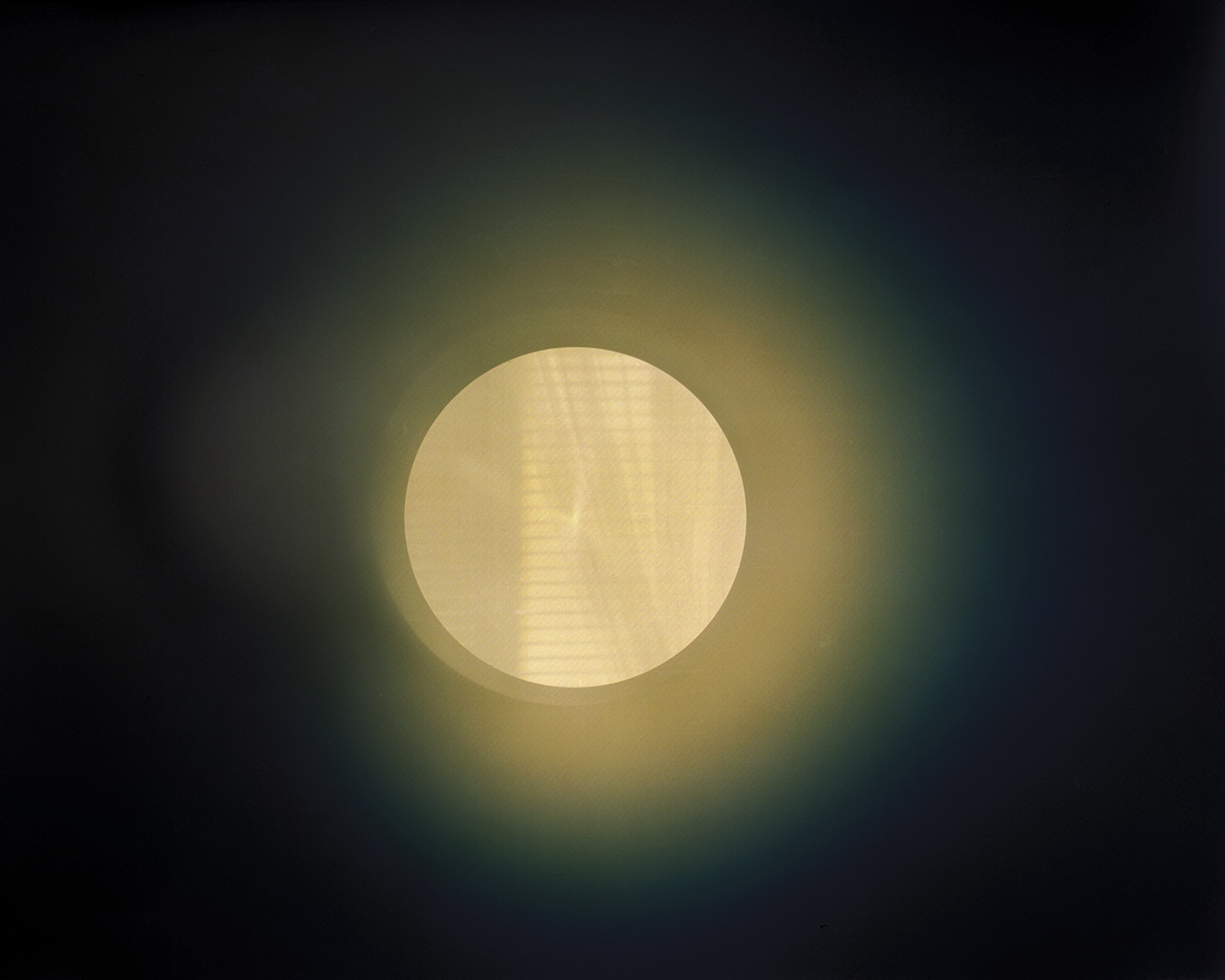 Bedroom Window (6:55 – 7:07 AM, January 1, 2013)