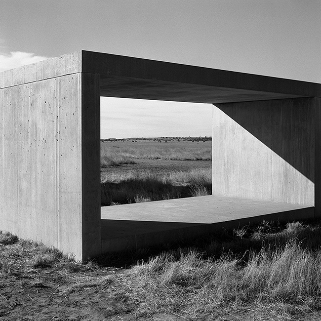 Work in Concrete by Donald Judd
