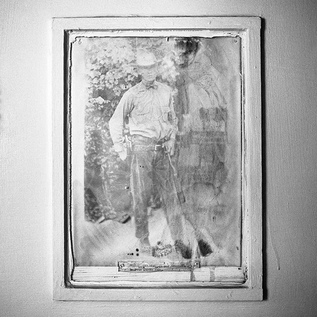 Cowboy, Photodegraded