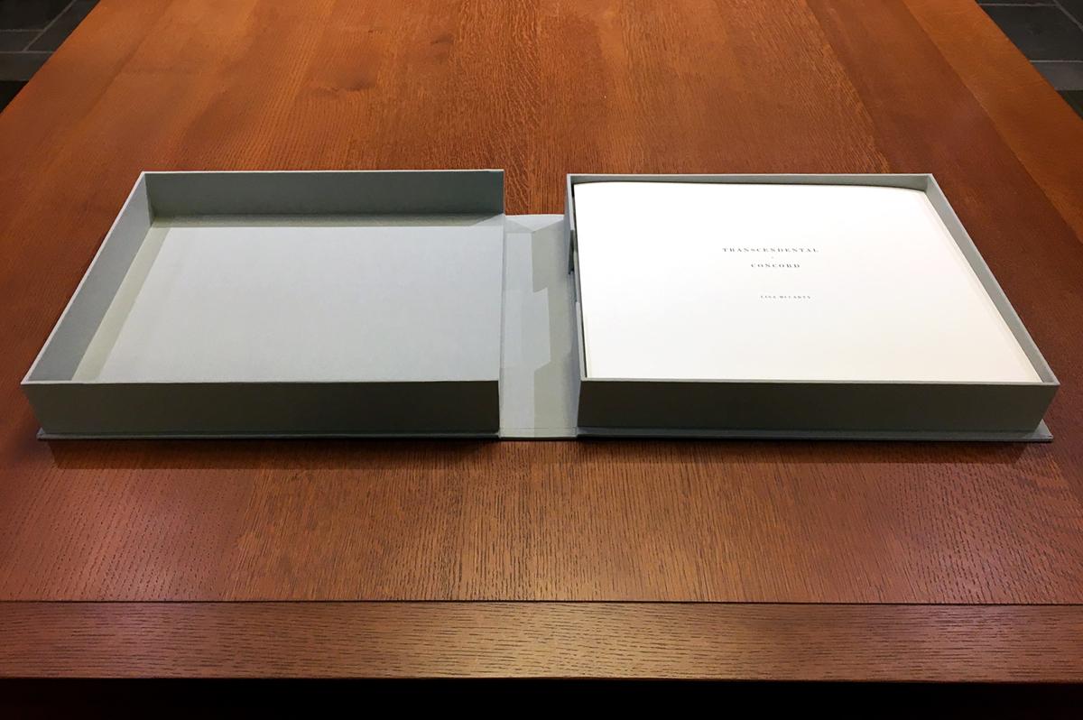 Custom Clamshell Box with 18 Prints