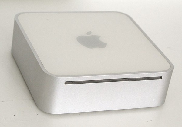 My first Mac - a Mac mini desktop. 2005.