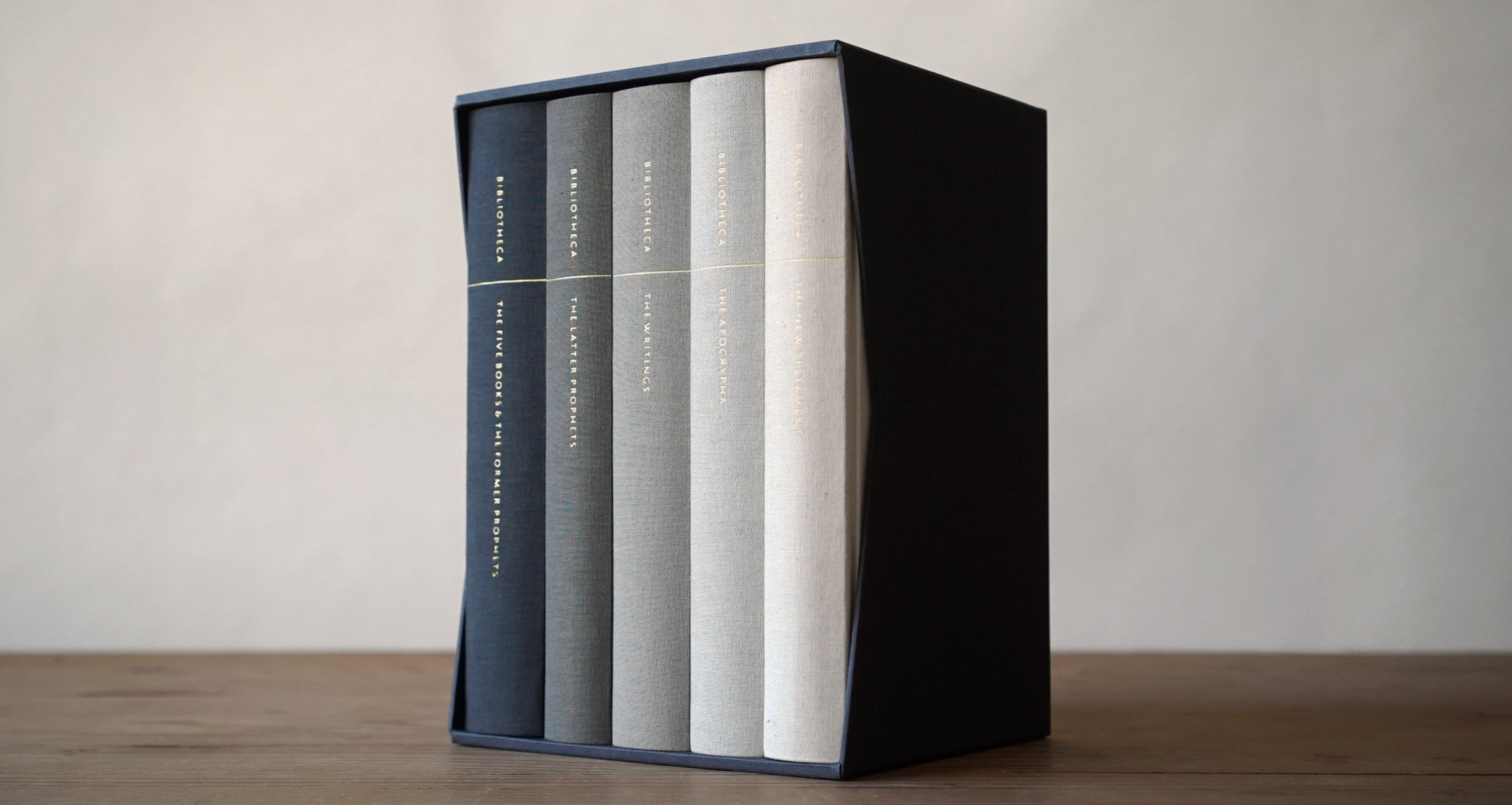 The completed Bibliotheca set. Shipping early December 2016.