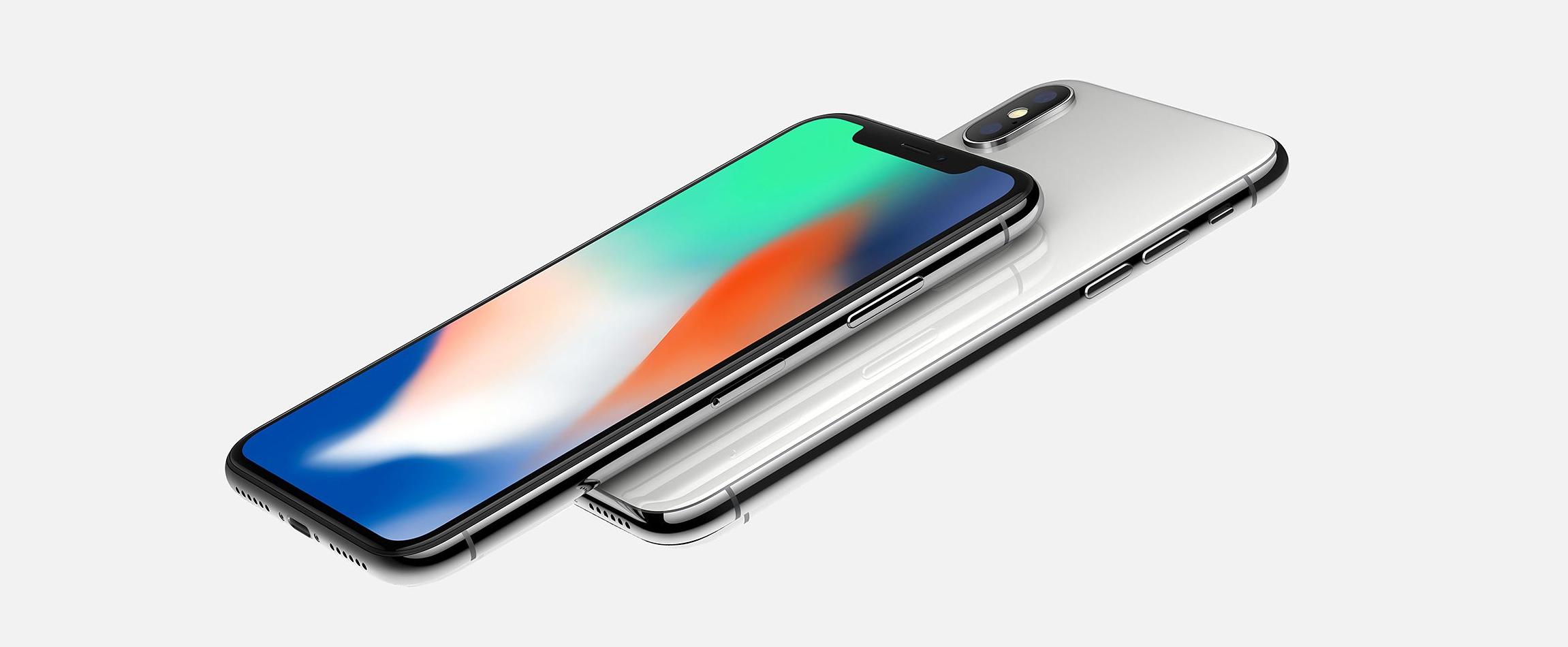 Apple's new iPhone X.