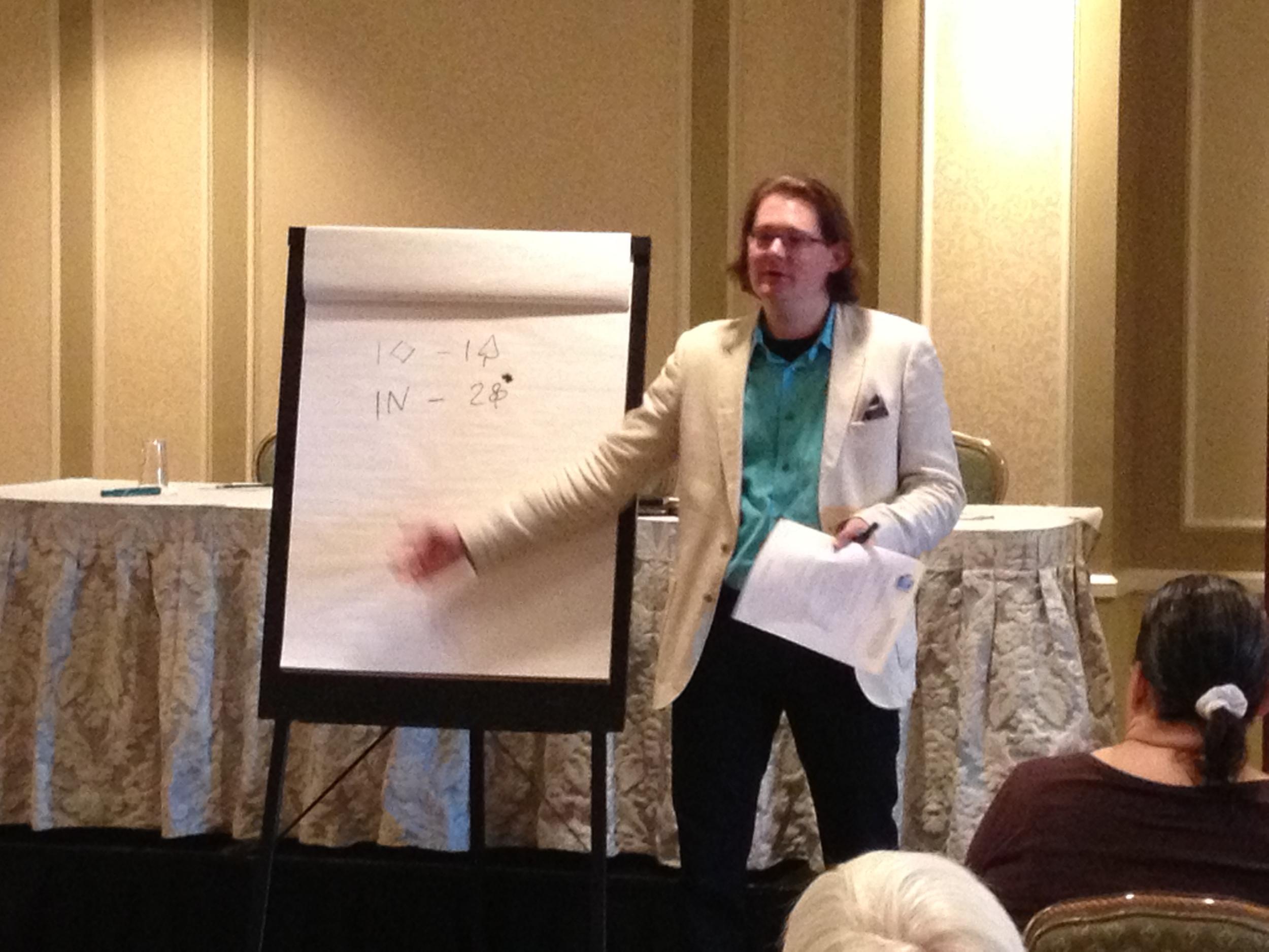 Robert Teaching - Bermuda 2013