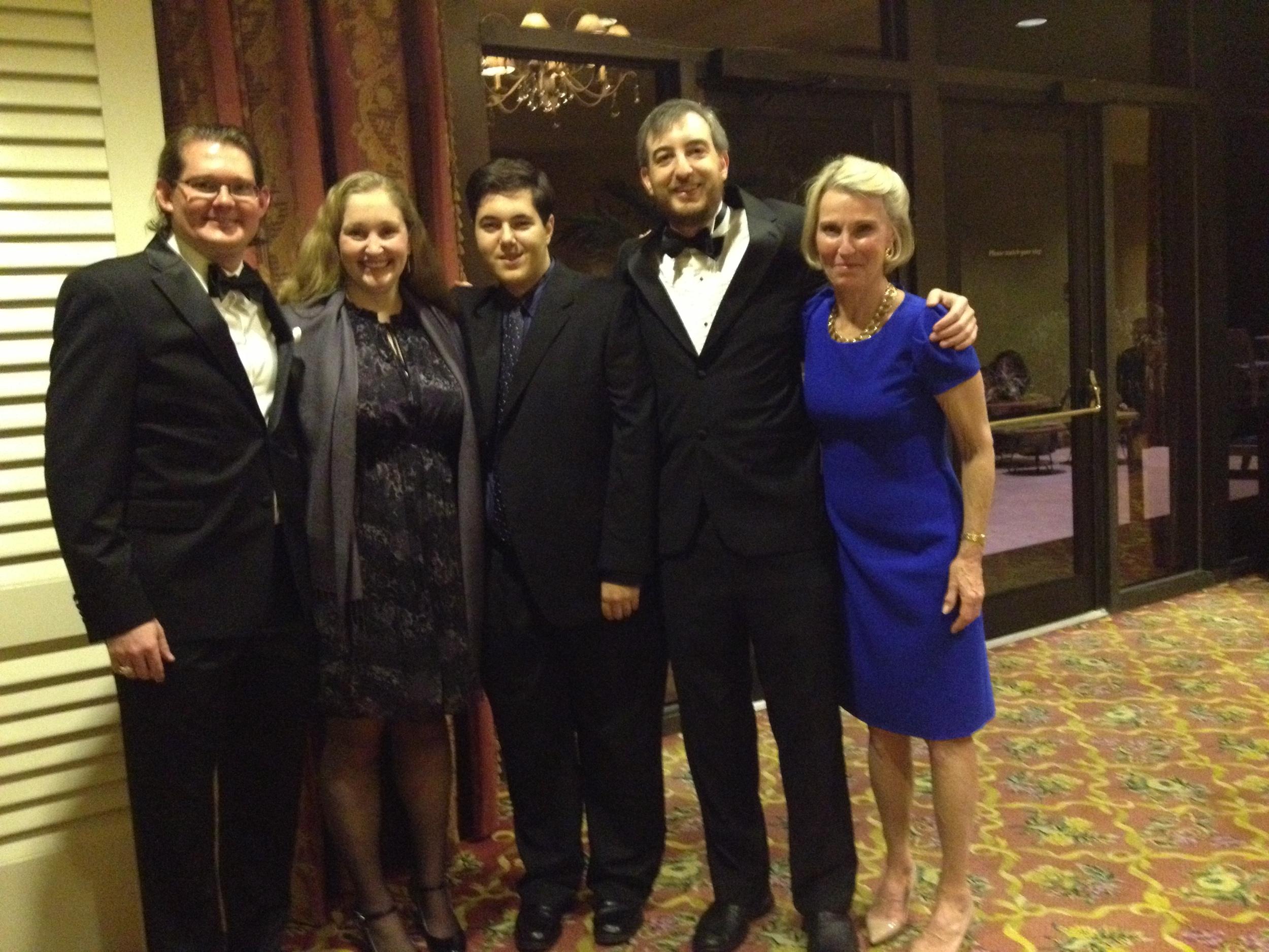 Robert, Theri, Adam K, Adam P, Patty - Bermuda 2013