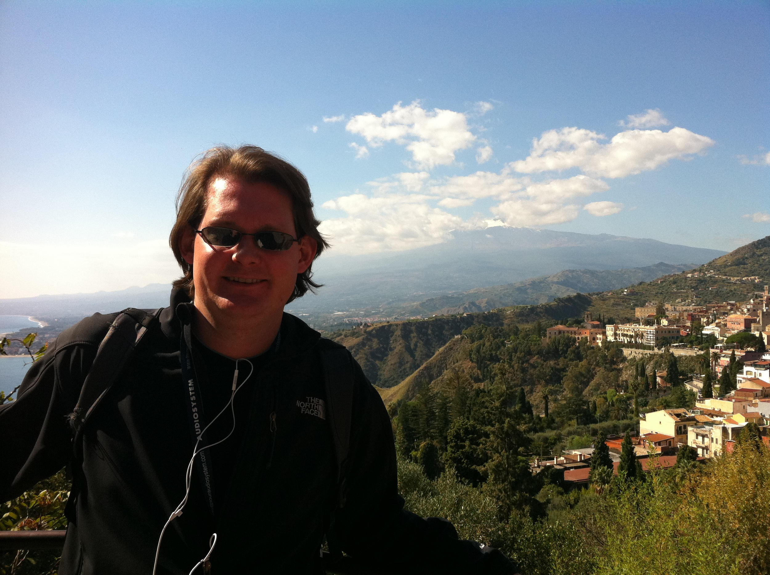 Robert at Mt Etna AiB Mediterreanean Cruise Oct 11.JPG