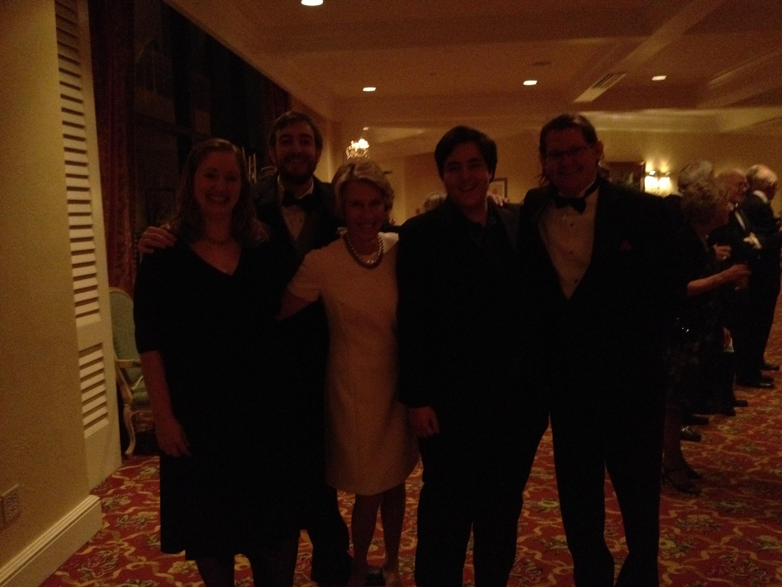 Theri, Adam P, Patty, Adam K, Robert - Bermuda 2012